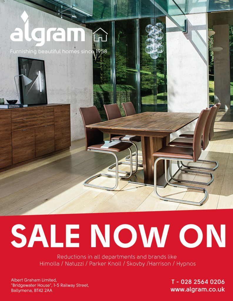 Furniture sale at algram in ballymena ballymena today for Furniture sales today