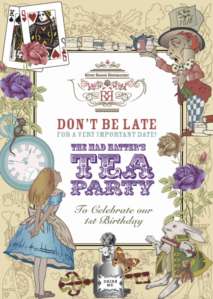 Mad Hatters Tea Party At Galgorm Resort And Spa