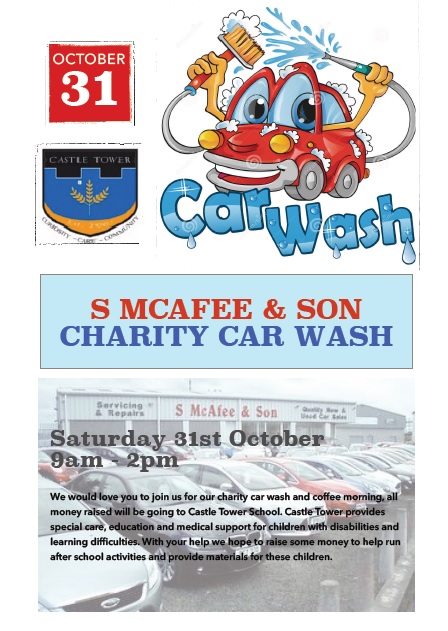 Ballymena Today Mcafee Cars Charity Car Wash